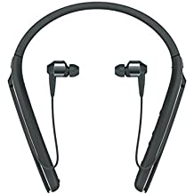 Sony Premium–Cancelación de Ruido behind-neck en Ear auriculares inalámbricos–negro (wi1000X/B) Negro