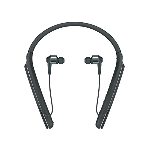 Sony Premium Noise Cancelling Wireless Behind-Neck in Ear Headphones - Black (WI1000X/B) ()