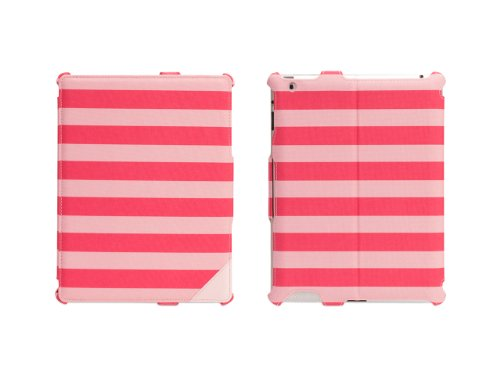 Griffin Pink Cabana Journal Case for iPad 2, 3, and  - Folio