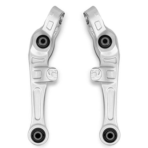 2Pcs Front Control Arms and Ball Joint Assembly for 03-07 Infiniti G35, 03-09 Nissan 350Z RWD