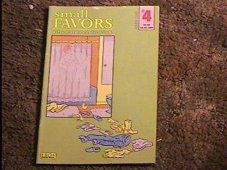 Small Favors: Girly Porno Comic Book # 4 -