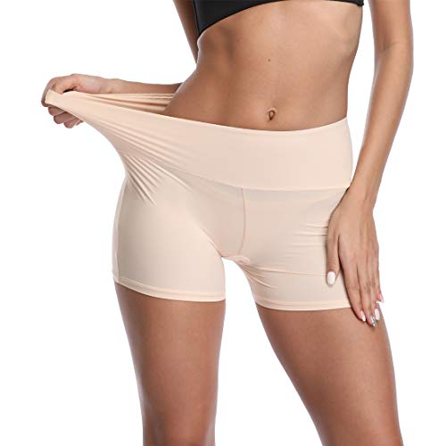 Seamless Boyshorts Panties for Women Underwear Soft Boy Shorts Slimming Underwear Shorts Nude