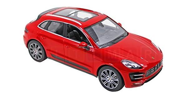 Rastar: Porsche accionado por control remoto Macan Turbo 01:14 ROJO: Amazon.es: Juguetes y juegos