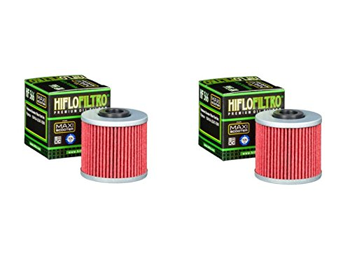 Hiflo Motorcycle Oil Filter HF566 Quantity 2