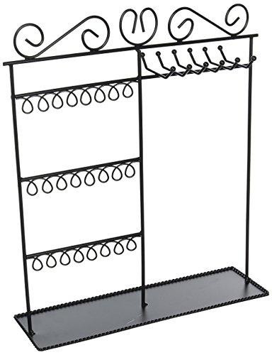 Darice Metal Jewelry Display Shelf, Black]()