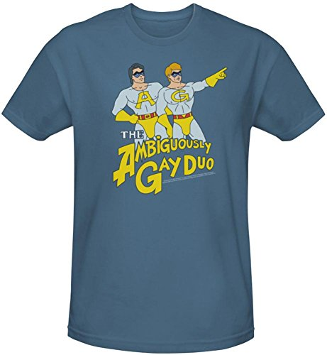Saturday Night Live - Ambiguously Gay Duo (slim fit) T-Shirt Size L