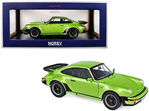Porsche 911 s Targa verde 1973 1:18 norev nuevo DIECAST 187632