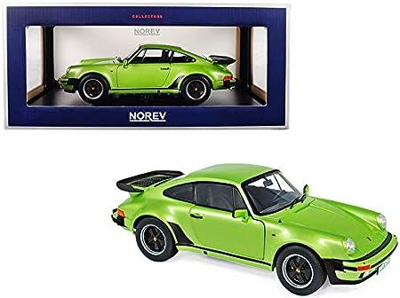 Olive Green Norev 187575 Porsche 911 Turbo 3.3 1977