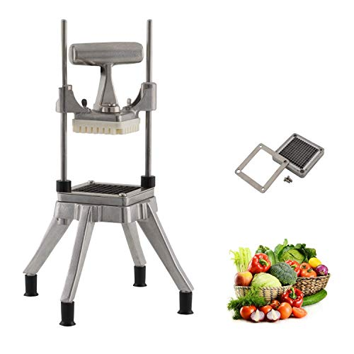 """Tuntrol Commercial Vegetable Dicer Blade 0.25 inches Quick Chopper Stainless Steel Easy Chopper Dicer for Onion Tomato Pepper Potato (1/4"""" Blade)"""