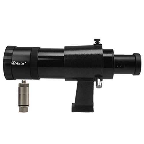 Alstar 9x50 Illuminated Finder Scope, Black - it provides both a bright image and comfortable viewing