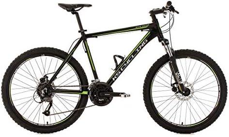 KS Cycling GTX - Bicicleta de montaña enduro, color negro, ruedas ...
