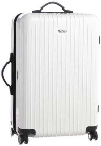 "Price comparison product image Rimowa 820.63 Salsa Air 26.8"" Hardsided Spinner Suitcase Color: Carrara White"