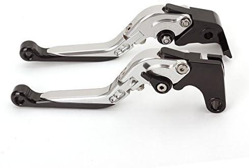 FXCNC Racing Billet Long Adjustable Brake Clutch Levers Set Pair fit for YAMAHA YFM700 Raptor 700R 2007-2018 YFZ450 YFZ450R 2008-2018