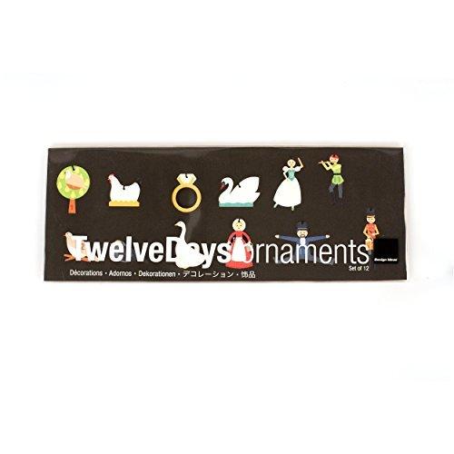 Design Ideas DI-8821217 Twelvedays Ornament-St/12-Mini