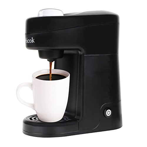 Coffee Maker One Cup No Pods : Aicok Single Serve Coffee Maker, Coffee Machine for Most Single Cup Pods Including K-Cup Pods ...