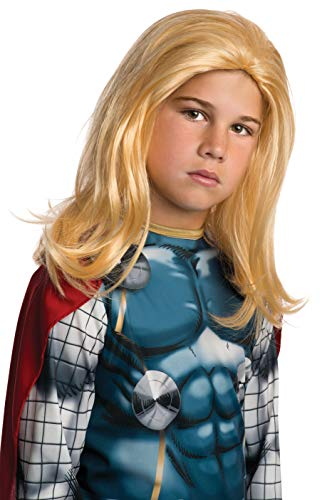 Rubies Marvel Universe Classic Collection Avengers Assemble Child Size Thor Wig -