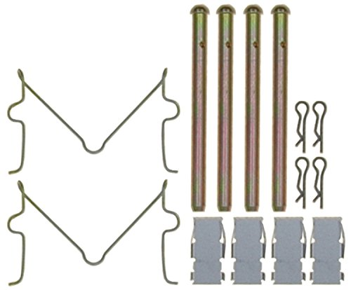 (ACDelco 18K412X Professional Front Disc Brake Caliper Hardware Kit with Clips, Springs, and Pins)