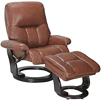 Fabulous Amazon Com Coja By Sofa4Life Bennett Leather Recliner And Creativecarmelina Interior Chair Design Creativecarmelinacom