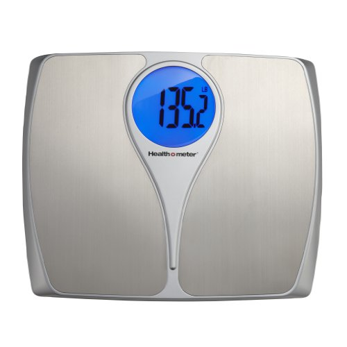 Health-O-Meter Stainless Steel Weight Tracking Scale