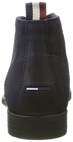 Tommy Jeans Herren J2385effrey 2b Desert Boots Schwarz (Ink)