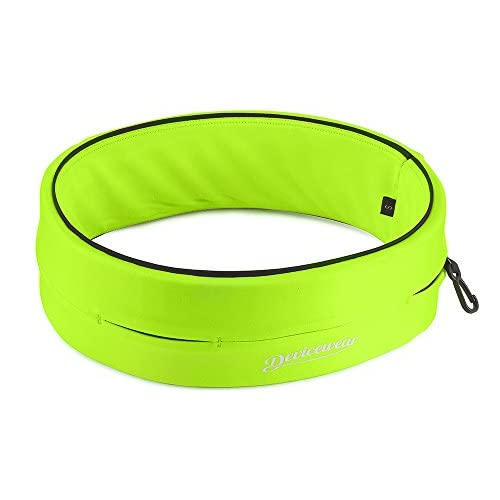 Running Belt, Flip Band That Holds All Your Essentials for Jogging, Walking, Marathons