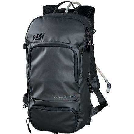 Fox Head Portage Hydration Pack, Black, One Size