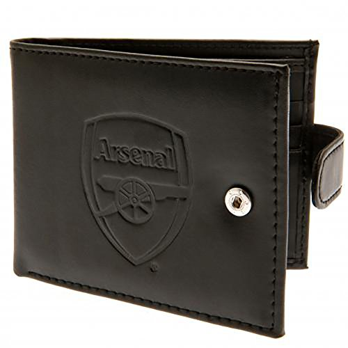 Official Licensed Arsenal F.C - Leather Wallet (RFID Anti Fraud)