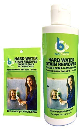 Bio Clean: Hard Water Stain Remover (10 Oz) - Our Professional Cleaner Removes Tuff Water Stains From A Variety Of Surfaces- by Bio Clean Products -