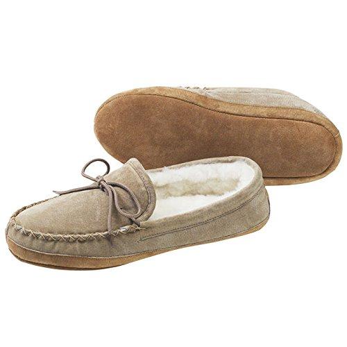 Vecchio Amico Calzature Uomo Suola Morbida Montone Pantofole Mocassino 481193-m