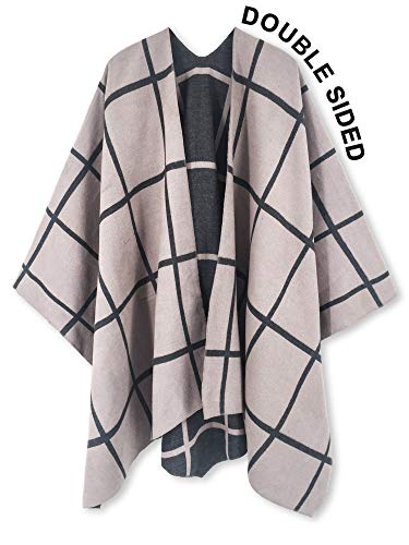 Open Front Poncho Shawl