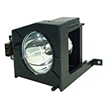 AuraBeam Professional Toshiba D95-LMP Television Replacement Lamp with Housing (Powered by Phoenix)