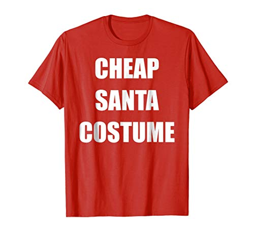 Funny Santa Costumes (Cheap Santa Costume t-shirt)