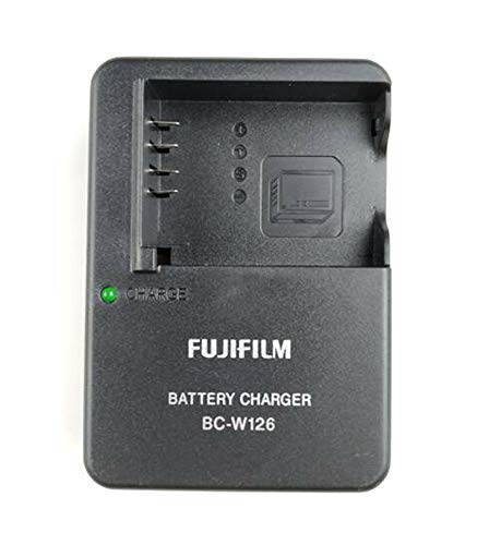 BC-W126 BC-W126S Battery Charger for Fuji Fujifilm NP-W126 NP-W126S X-T3 X100F X-H1 X-Pro2 X-Pro1 X-T2 X-T1 X-T20 X-T10 X-T100 X-E3 X-A10 X-E2S E2 A5 A3 A2 Camera