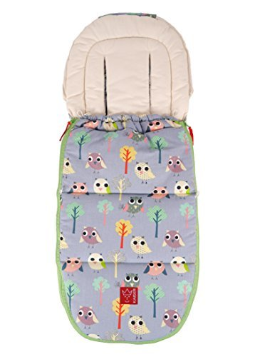Kaiser Sunny Summer Footmuff (Jeans Grey Owls) by Kaiser