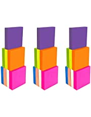 4A Sticky Notes Different Sizes and Colors