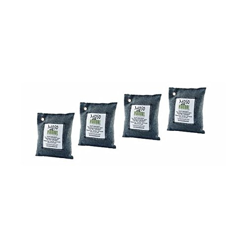 Amazon Lightning Deal 55% claimed: Four (4) Moso Natural Air Purifying Bags 200g (Charcoal)