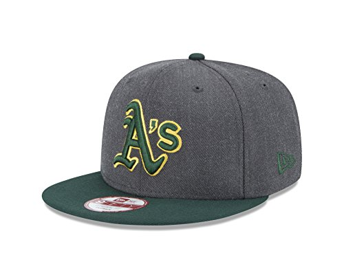 New Era MLB Oakland Athletics Heather 9Fifty Snapback for sale  Delivered anywhere in USA