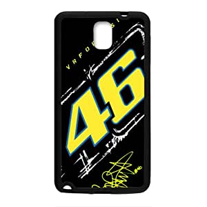 VR46 Official Racing Collection Valentino Rossi Design Plastic Case Cover For Samsung Galaxy Note3