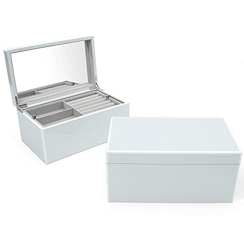 The Original ELLE Jewelry Box Arctic-Blue Lacquer by Swing Design -
