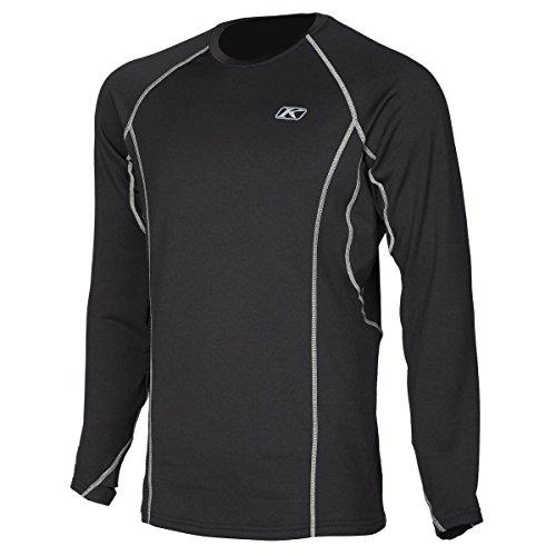 Klim Aggressor 2.0 Short-Sleeve Shirt Mens Undergarment Off-Road/Dirt Bike Body Armor - Black Medium