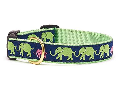 [Elephant Walk Dog Collar - Large] (World Country Themed Costumes)