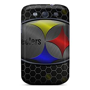 Best Hard Cell-phone Cases For Samsung Galaxy S3 (uNz2376FMbz) Customized Fashion Pittsburgh Steelers Pattern