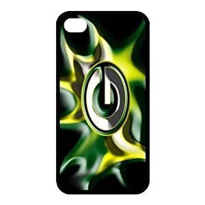 Custom Green Bay Packers Back Cover Case for iphone 4,4S JN4S-738 by runtopwell