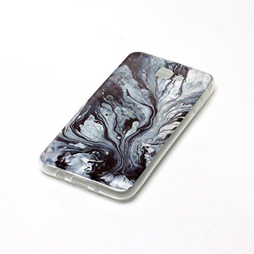 SRY-Funda móvil Samsung Para Samsung Galaxy J7 Cubierta de primera calidad Imitación de mármol Textura Cubierta suave ( Color : E ) L