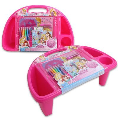 Disney Princess Sit and Create Activity Desk - 7.2 (Princess Disney Desk Art)