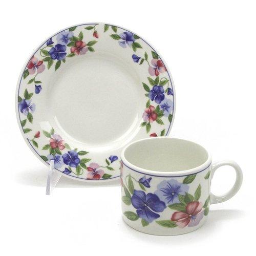 (Freesia by Sakura, Stoneware Cup & Saucer)