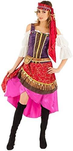 Chaks c4350s, Gypsy Lady Disfraz Adulto, Talla S: Amazon.es: Hogar