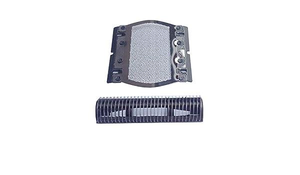 4G-kittyShaver - Soporte de repuesto para cortador y cortador de papel de afeitar para Braun 5S Series Pocket M60 M90 P70 P80 P90 M30 M60S M90S 550 555, Foil&Cutter, 0.0[set de ]: