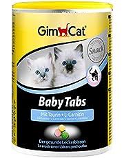 GimCat Baby Tabs – Leckerli funcional con taurina y L-carnitina para gatos jóvenes a partir de 6 Semana