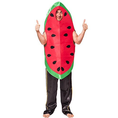 EraSpooky Men's Halloween Watermelon Costumes, OneSize]()